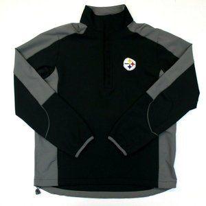 Men's NFL Pittsburgh Steelers 1/2 Zip Pullover
